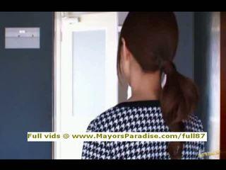 Akiho yoshizawa innocent kinesisk jente gets fitte licked
