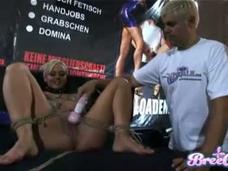 Rubia bondage guarra bree olsen gets tied hasta y su twat toyed