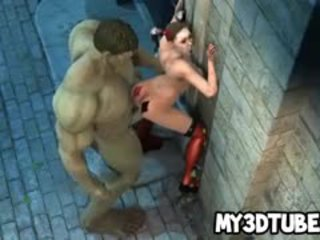 3d harley quinn perses poolt the incredible hunk