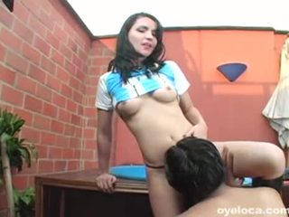 oral sex, licking vagina, black-haired, rimming