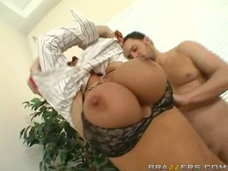 Diamond Foxxx getting drilled hard on her cunt doggyway