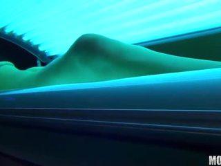 plezier voyeur film, meest gelooide, heet solarium neuken