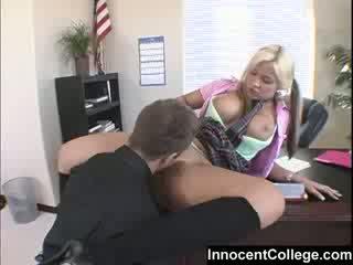 online college meisje porno, schattig, beste student klem