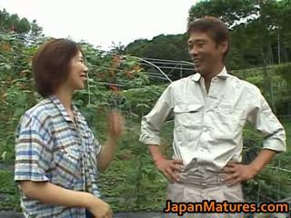Chisato shouda الآسيوية ناضج كتكوت gets