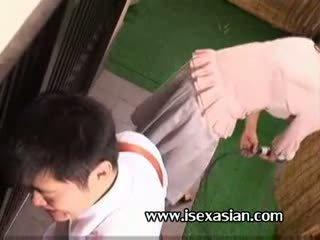 Asiatico matura an zia bisogno sesso con two giovane studente