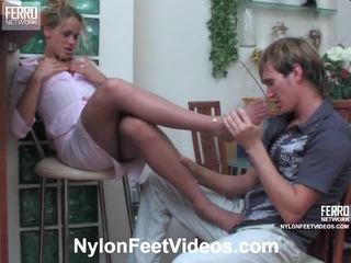 plezier voet fetish gepost, echt sexy benen porno, meest panty scène