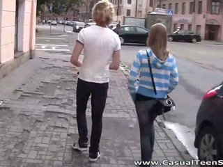 Casual Teen Sex Blond and blonde fuck hot