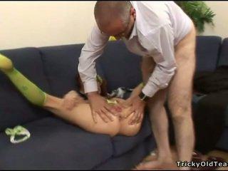 Succulent pounding na a príťažlivé twat
