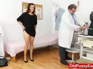 Katie Pussy Gynoclinic Visit For Gyno Speculum Exa
