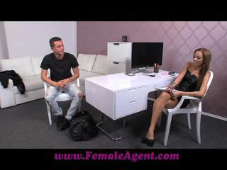 FemaleAgent Can young stud deliver the goods