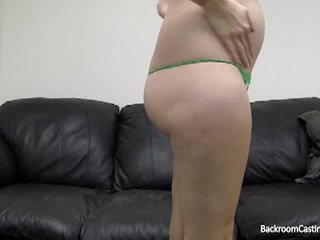 Backroomcastingcouch with cami