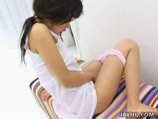 Haruka Aida hot Asian babe solo