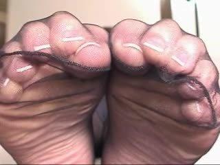 beste zwart en ebony, zien voet fetish, kousen