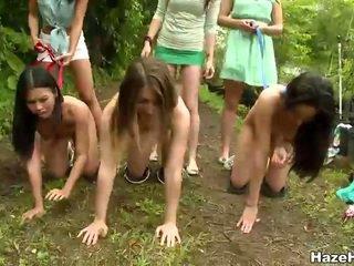 een amateurs video-, hq likken, echt lesbiennes actie