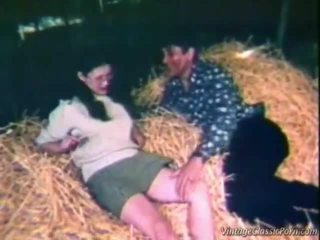 Fucking Inside The Hay