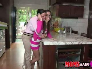 Hot mom Jenna seduces teen guy