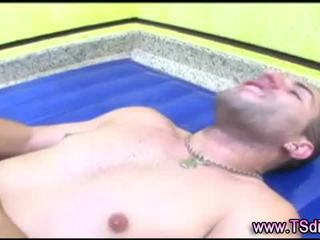 Tranny shemale fuck and cumshot