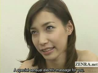 heetste japanse, zien speelgoed film, zien vibrator