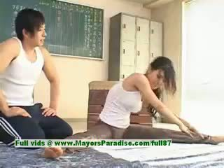 Sora Aoi Hot Babe Lovely Asian Model Enjoys Getting Teased
