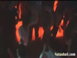 hidden camera catch babe in disco