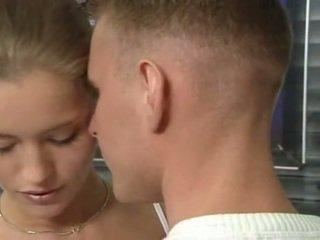 kwaliteit schattig porno, tiener paar, nominale tiener sex klem