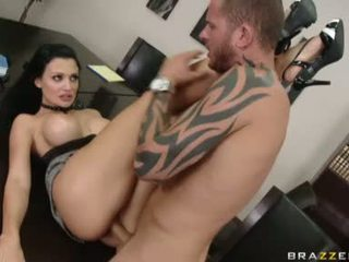 Charming Bitch Aletta Ocean Getting Her Twat Cracked By A Monster Cock