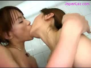 nice cute, hq japanese check, real lesbians