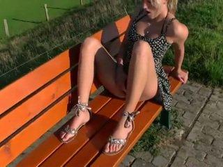 A Beautiful Blonde Gets Fuck In Public- Schnuggie91-
