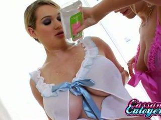 nieuw meloenen, heetste grote borsten film, lesbo klem
