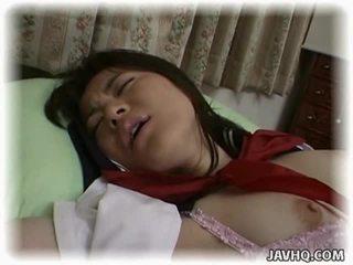 Asian Schoolgirl Having Crazy Intercourse