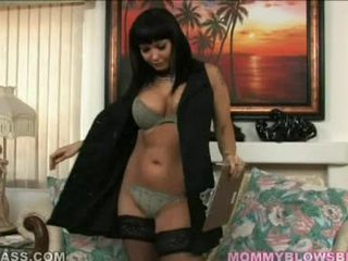 Nasty Brunette Carrie Ann Acquires Her Mouth Busy Sucking A Hard Man Lollipop