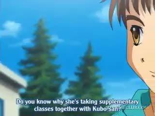 Innocent Hentai School Babe Seducing Her Coed