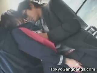 现实 看, 最好的 日本, 看 团体性交