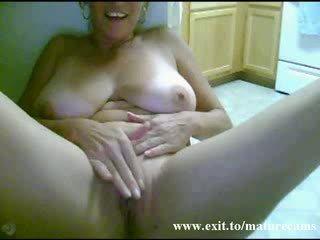 Solo of sex addicted Granny from Australia Video