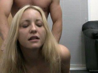 Hardcore Casting Finished Nearly Facial Cumshot