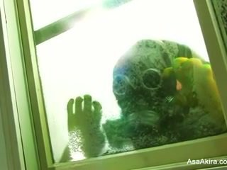 Asa akira - 좀비 항문의 질내 사정