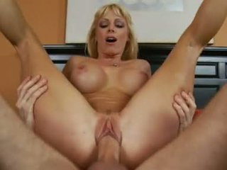 Holly Sampson Likes To Pump Her Juicy Pussy On A Hard Meat Cock