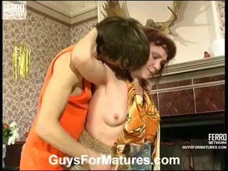 Lillian e marcus irresistible anziano signora dentro azione