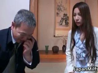 Anri suzuki sừng sự rút lại á châu mẹ part1