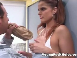vol brunette, zien jong mov, kijken assfucking