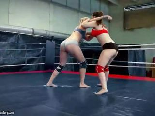 lesbisch kanaal, meest pornstar, lesbische strijd mov