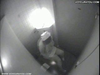 Kakus masturbation secretly captured by spycam