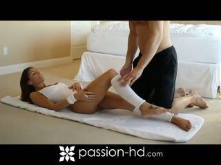 Sexig aerobisk träning