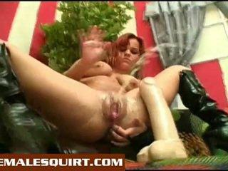 セクシー 雛 ホット solo squirting masturbations