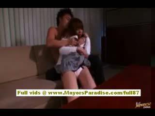 Akiho Yoshizawa Asian Babe Gets Abused At Work