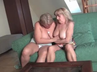 Granny Lesbian Gets Horny Video