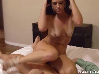 all brunette hot, you cougar full, real blowjob