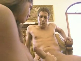 Excited Babe Stevie Takes A Long Weenie Gliding In And Out This Chabr Warm Juicy Mouth