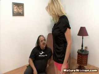 Big Titted Blonde Milf Bridget Lee Sure Is In For The Treat Today! She Is Paired Up Surrounding Veteran Stud Ron Jeremy. You Have Probably Heard Of Ron Till Despite A Fact That He Is Short, Fat, B