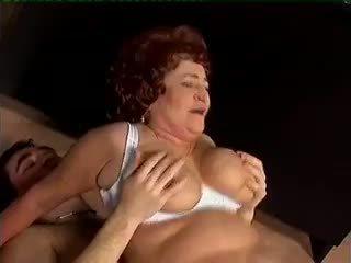 granny, rated blowjob full, redhead see